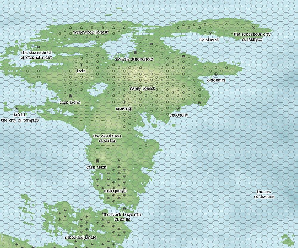donjon world map